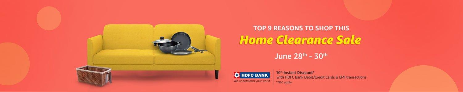 Home Clearance sale: Up to 80% off