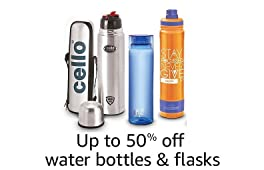 Up to 50% off: Water bottles, flasks