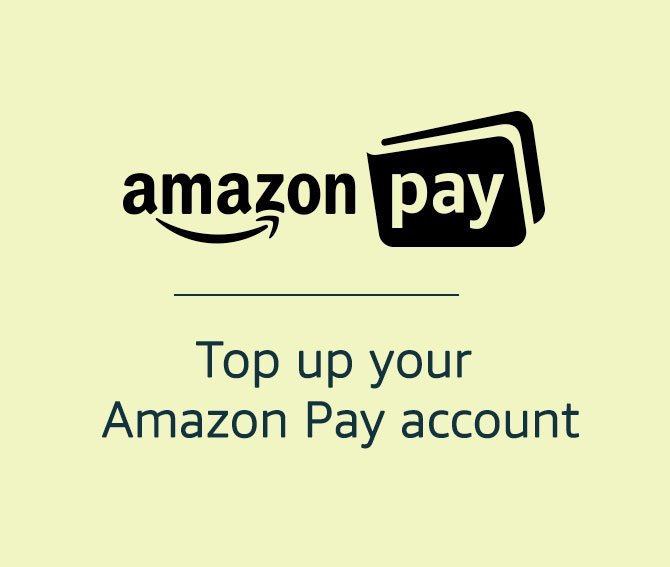 Top up your Amazon Pay account