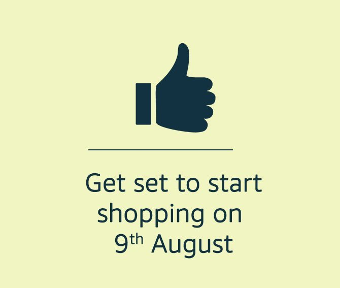 Get set to start shopping
