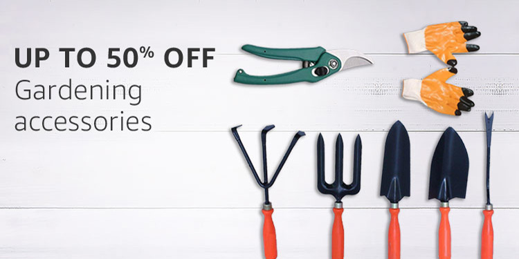 gardening accessories : Up to 50% off