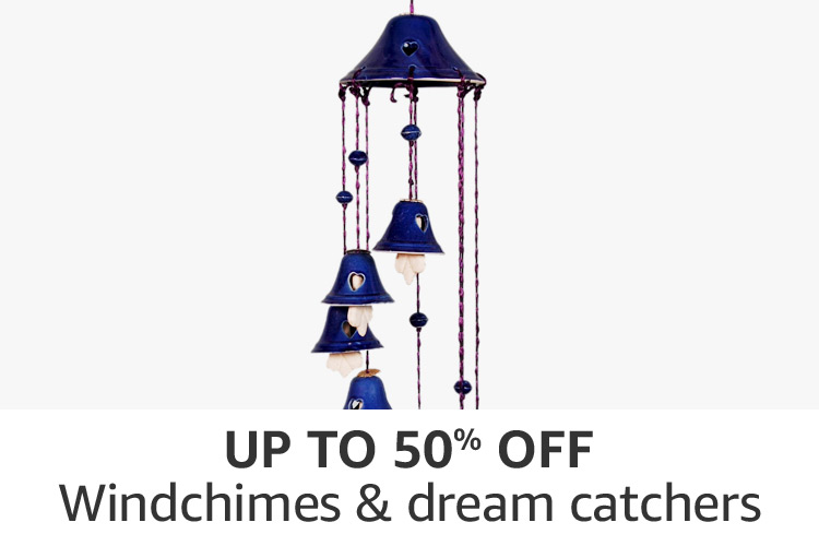 Windchimes & dream catchers : Up to 50% off