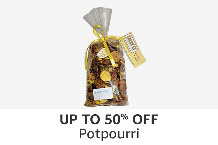 Potpourri : Up to 50% off