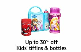 Up to 30% off: Kids' tiffins and bottles
