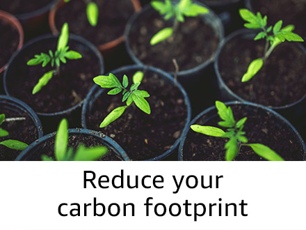 Reduce your foot print