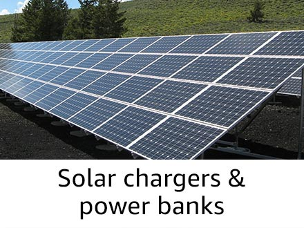 Solar charger & power banks