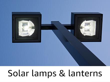 Solar lamps & lanterns