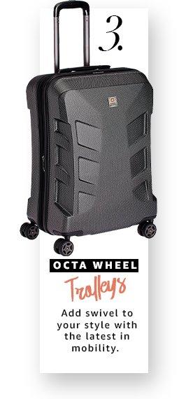 Octa-wheel Trolleys