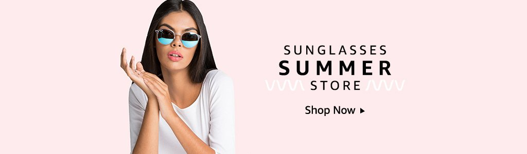 24918ba699 Amazon.in  Women s Sunglasses Summer Store  Clothing   Accessories