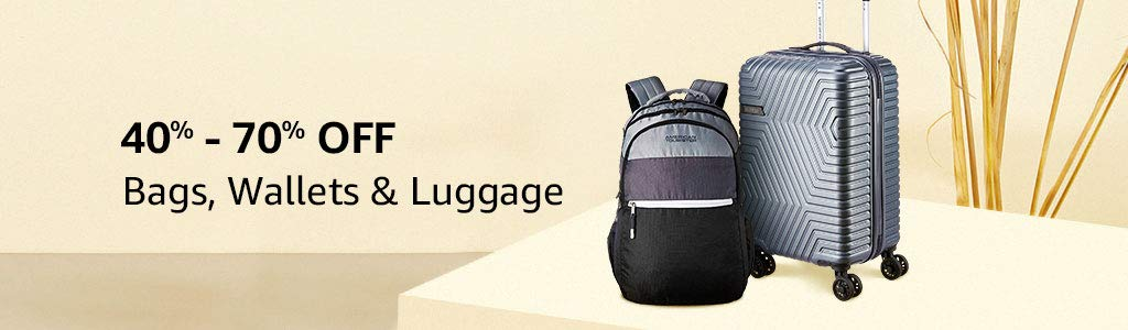 Bags & Luggage | 40% -70% off