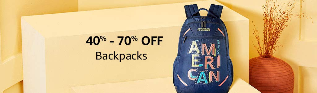 Backpacks | 40% - 70% off