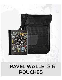 Travel Wallets & Pouches