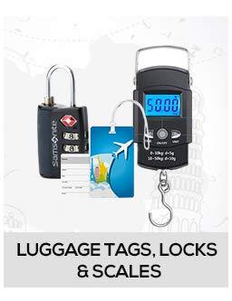 Luggage Tags, Locks & scales