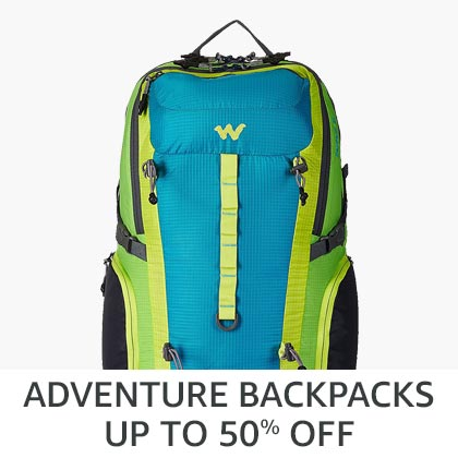 Adventure backpacks