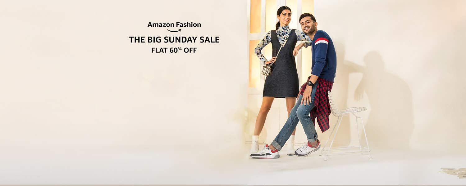 Amazon Fashion | The Big Sunday Sale