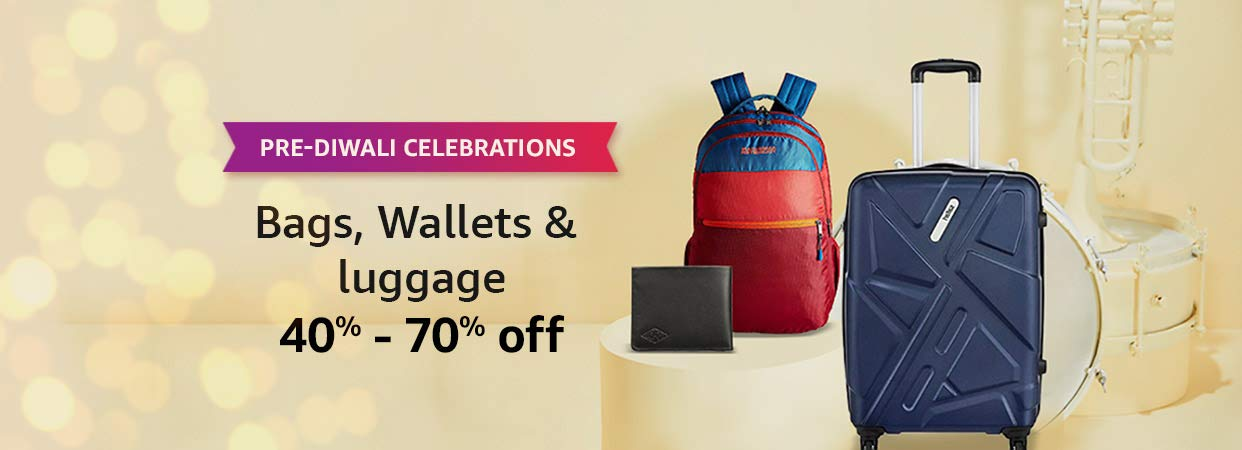 40% - 70% off | Bags, Wallets & Luggage