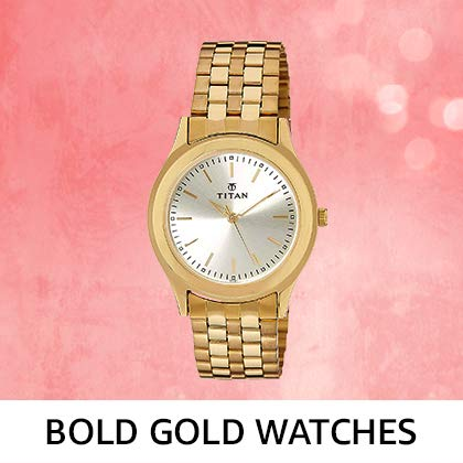 Bold Gold Watches