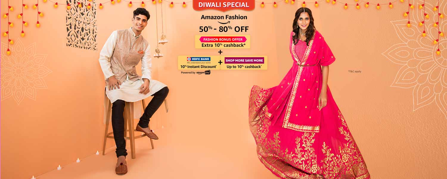 Amazon Great Indian Festival Diwali Special sale from 2nd-5th Nov