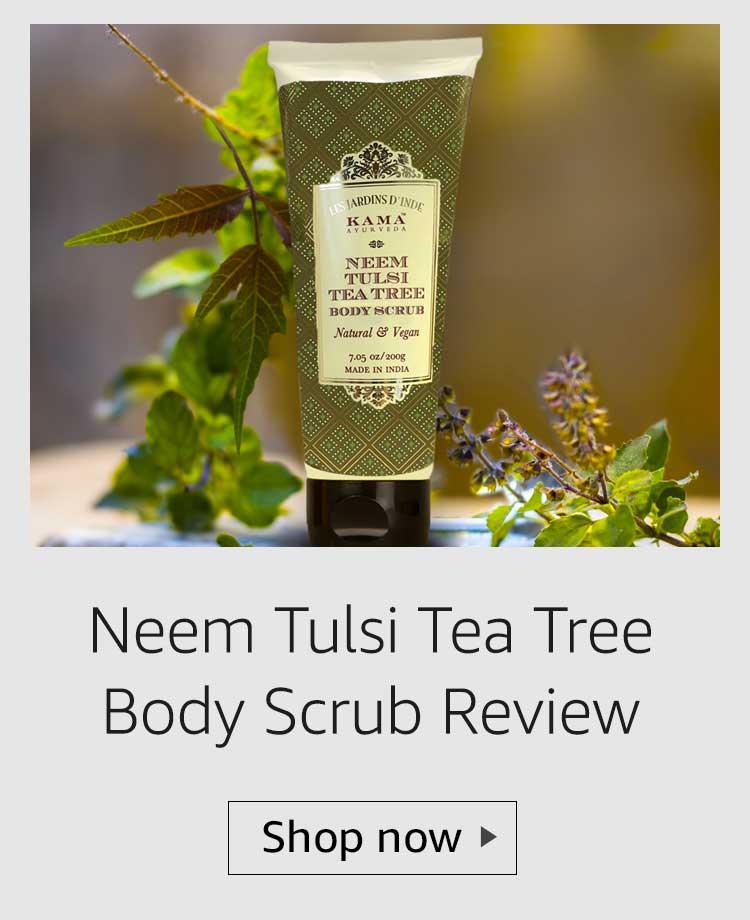Kama Ayurveda Neem Tulsi Tea Tree Body Scrub