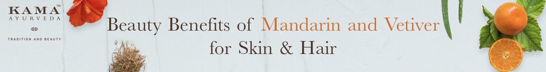 Kama ayurveda's mandarin vetiver for hair and body