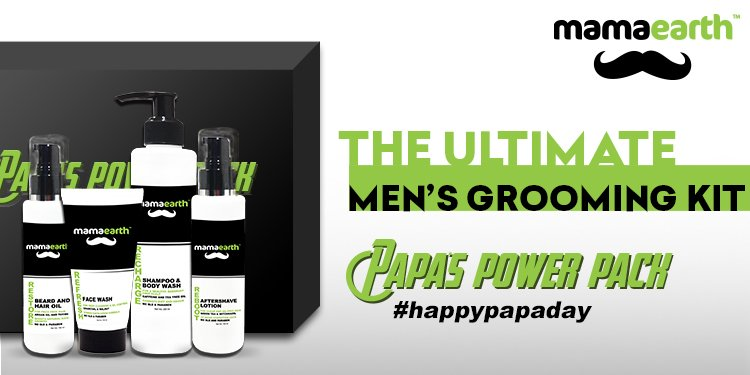 mamaearth father's day range