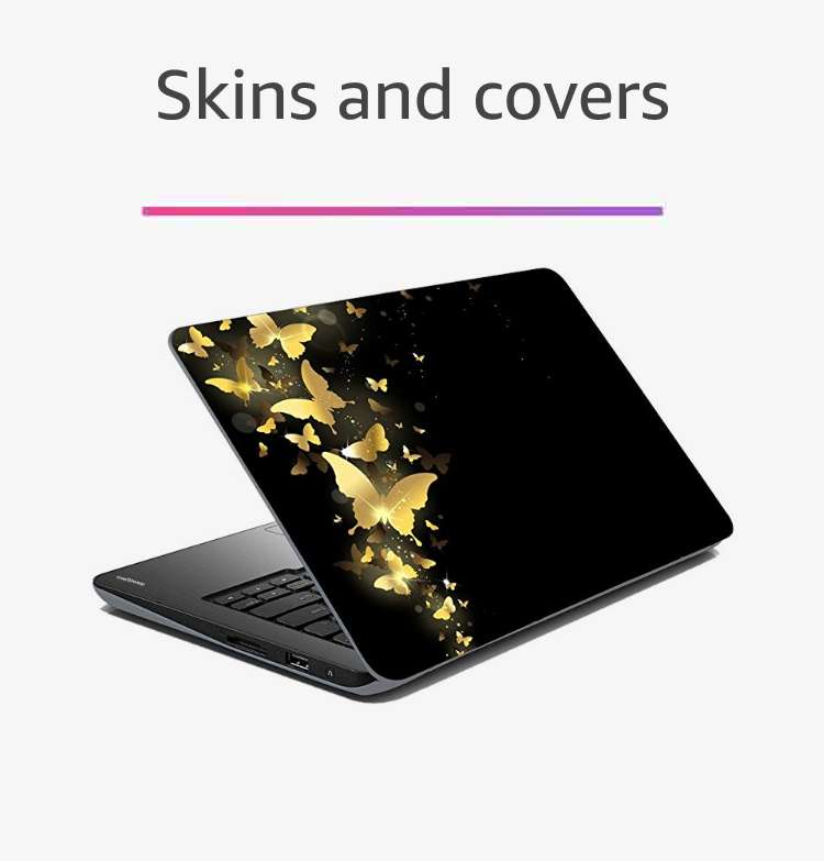 Laptop skins & covers