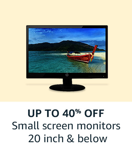 Small Screen Monitors: Up to 40% off