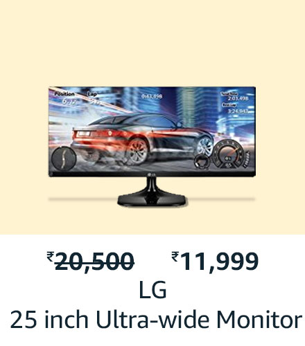 LG 25 inch Ultra-wide Monitor