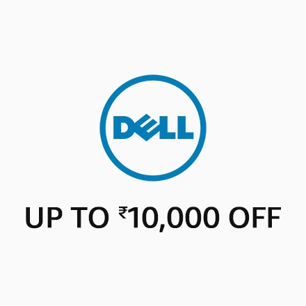 Dell Up to Rs,10,000 off