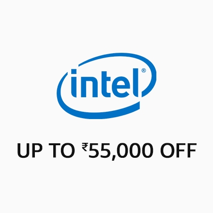Intel - Up to Rs,55000  off
