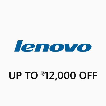 Lenovo - Up to Rs.12,000 off