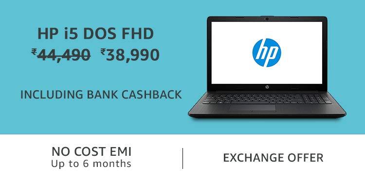 HP i5 DOS FHD