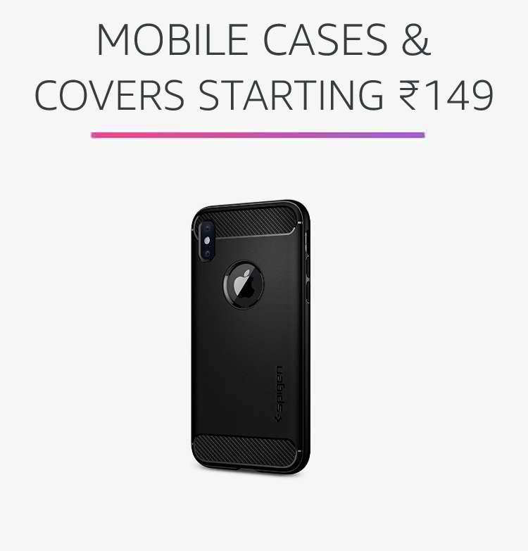 Mobile cases & covers starting Rs.149