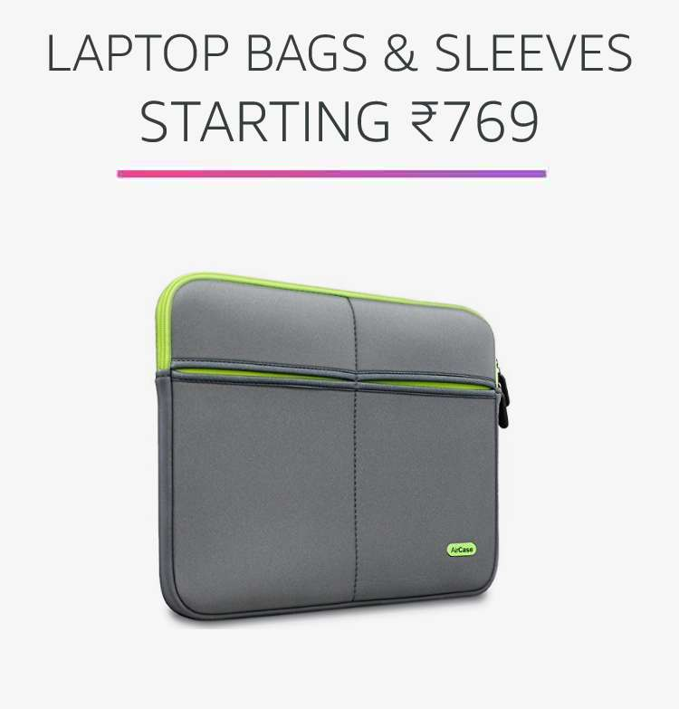 Laptop bags and sleeves Rs.769