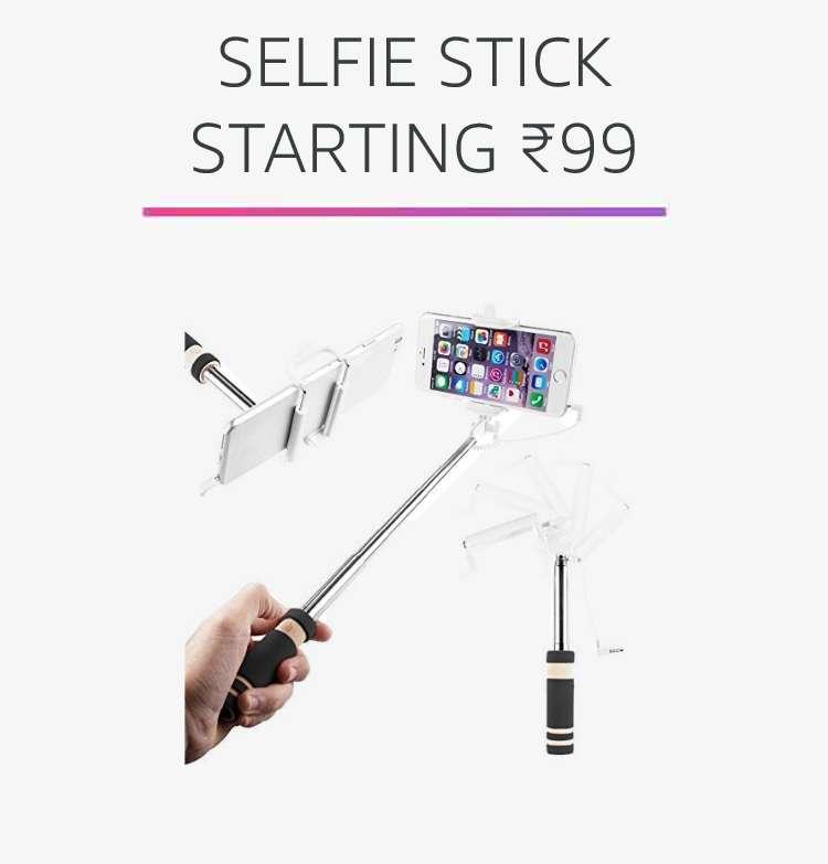 Selfie stick starting Rs.99