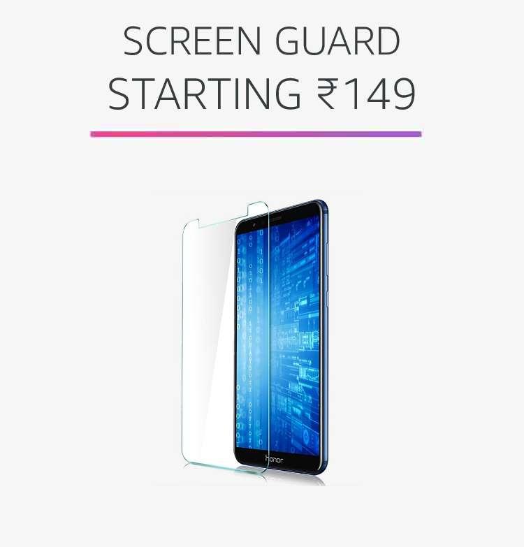 Screen guard starting Rs.149
