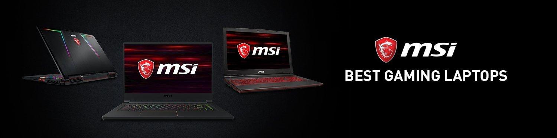 MSI bestselling laptops