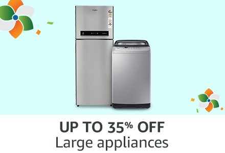 UP TO 35% OFF Large appliances