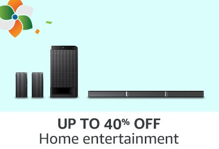 UP TO 40% OFF Home entertainment