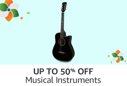 UP TO 50% OFF Musical Instruments