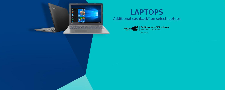 Laptops - Up to 10% Apay cashback