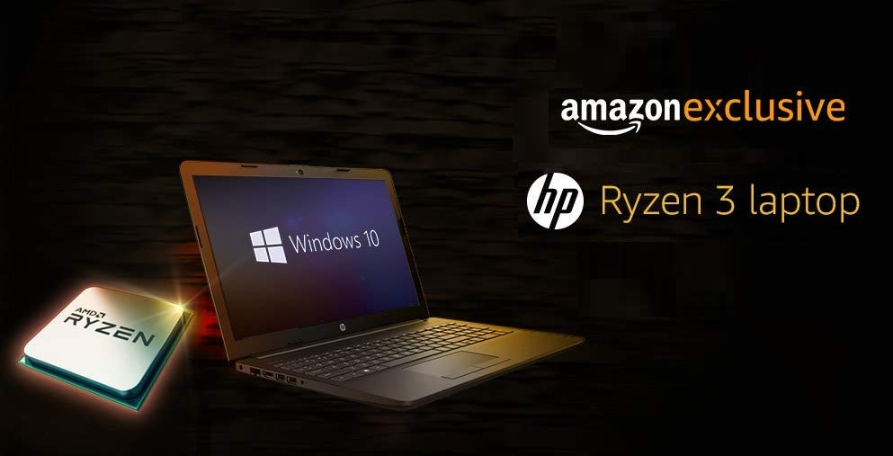 HP Ryzen 3 laptop