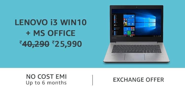 Lenovo i3 win10 + MS office