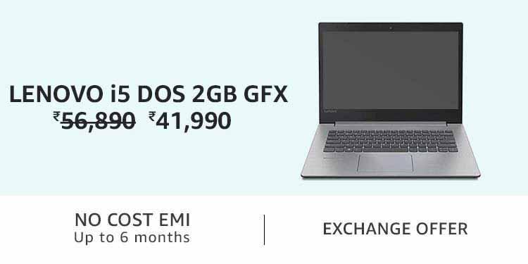 Lenovo i5 DOS 2GB Gfx