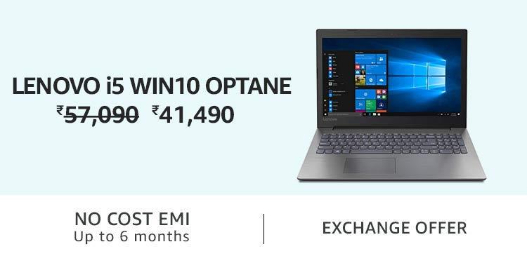 Lenovo i5 Win10 Optane