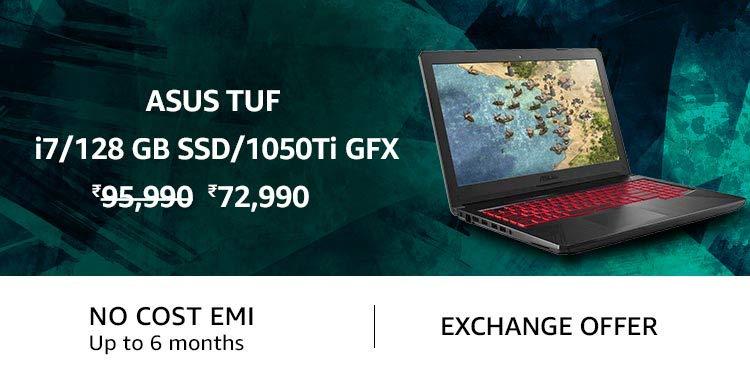 ASUS TUF i7/128 GB SSD/1050 Ti