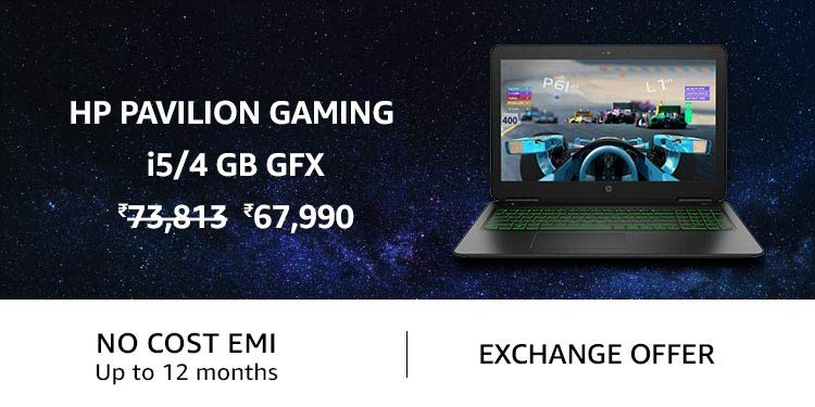 HP Pavilion Gaming i5/4GB Gfx