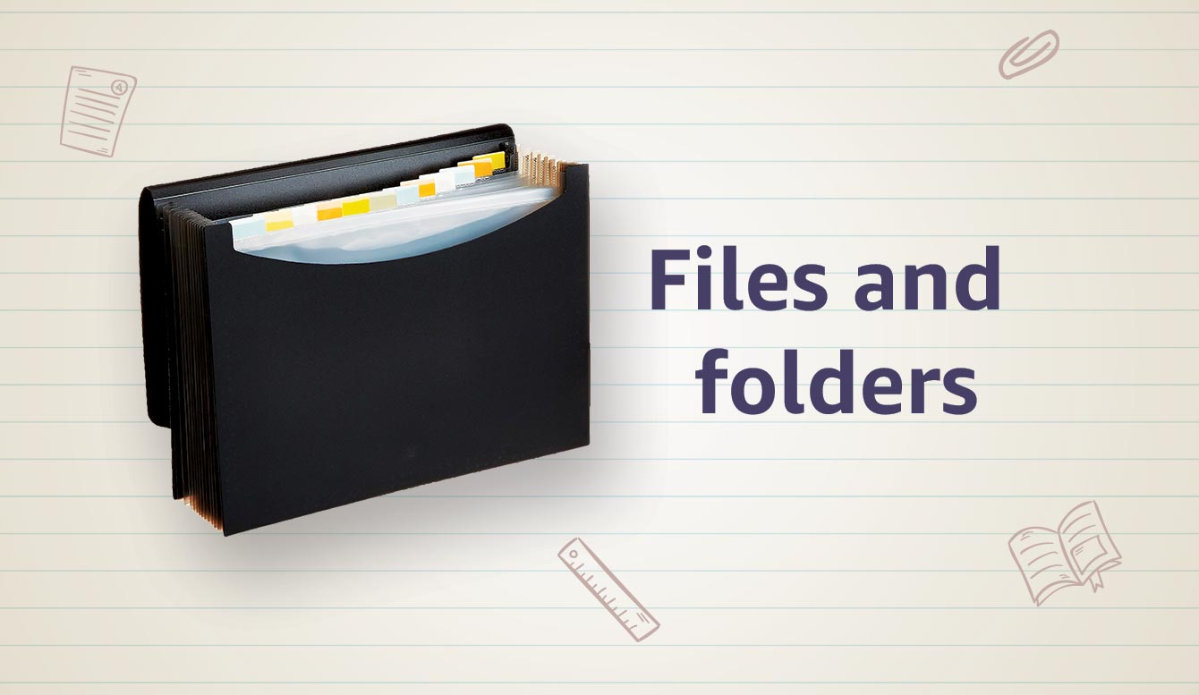 file and folder