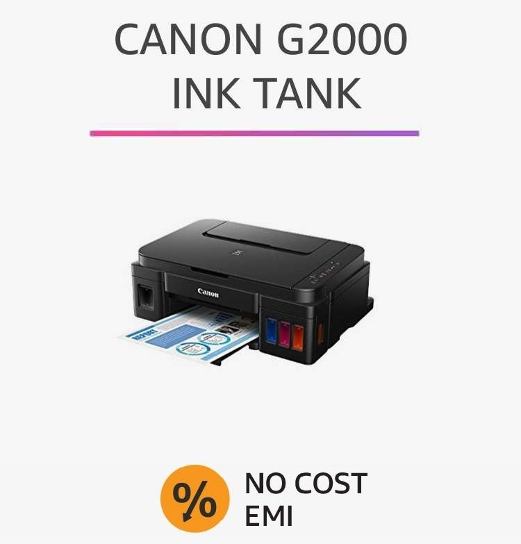 Canon G2000 Ink Tank
