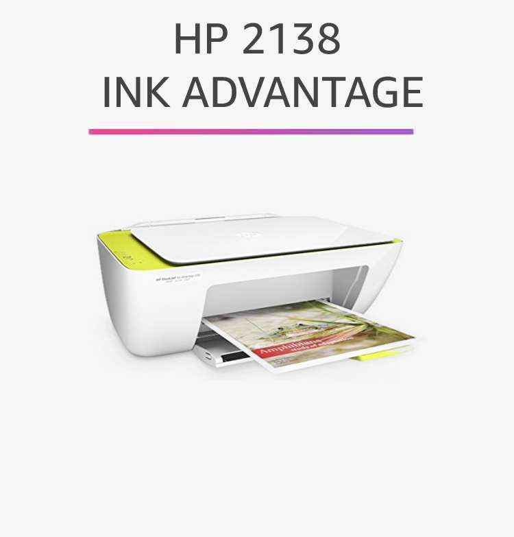 HP 2138 Ink Advantage
